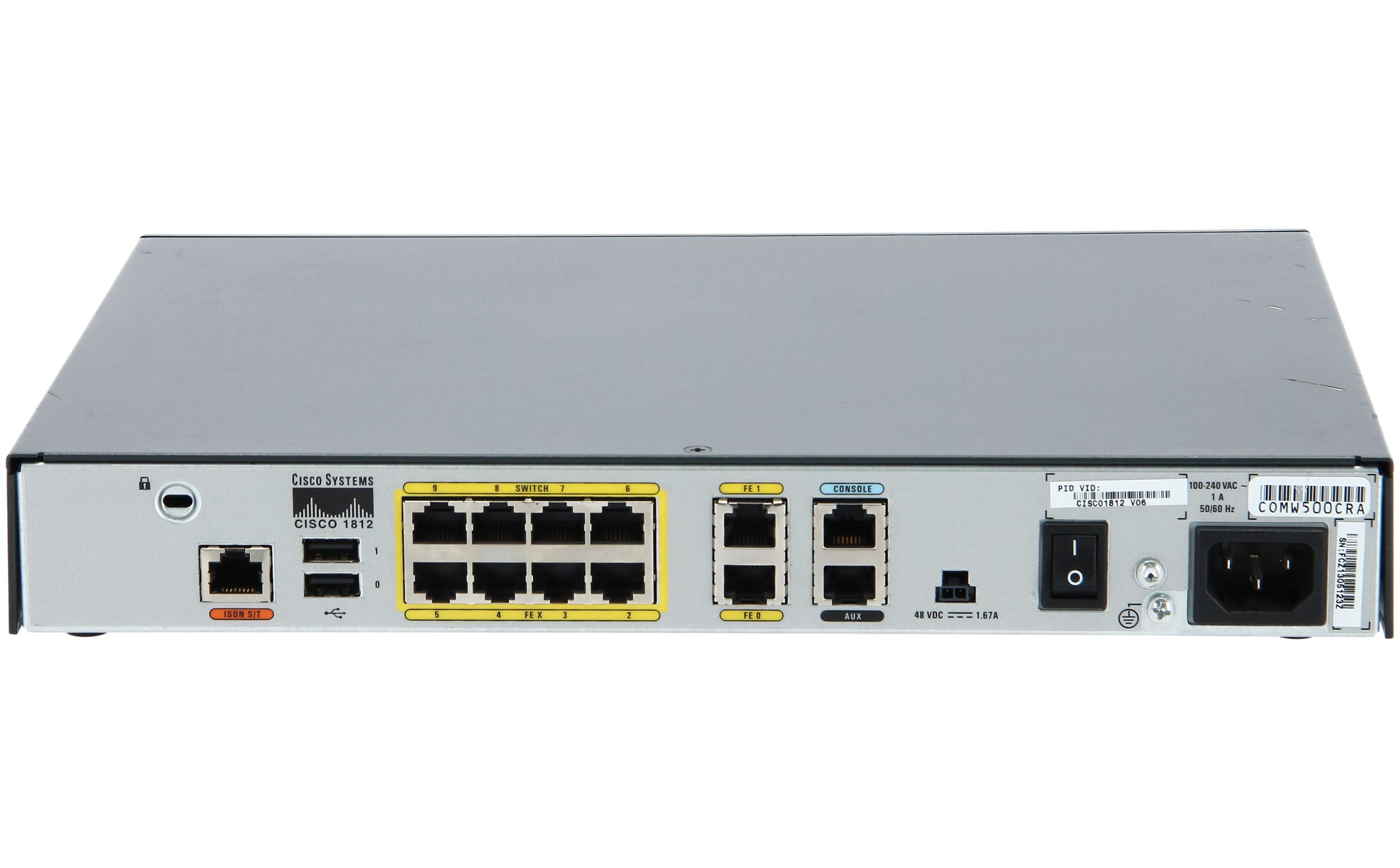 روتر شبکه سیسکو Cisco 1812/K9