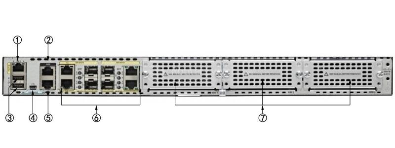 روتر شبکه سیسکو Cisco ISR 4431 SEC/K9