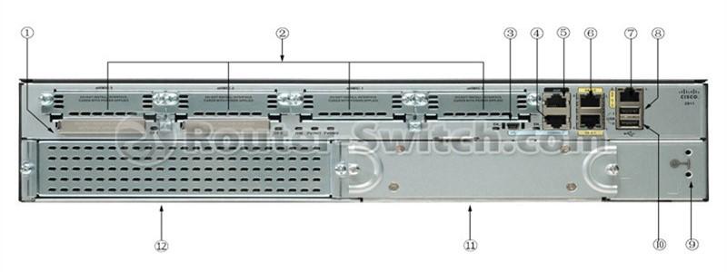 روتر شبکه Cisco ISR 4431-V/K9
