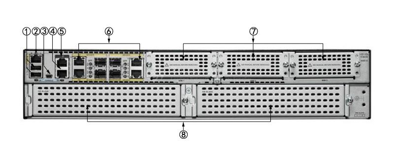 روتر شبکه سیسکو Cisco C3945-CME-SRST/K9