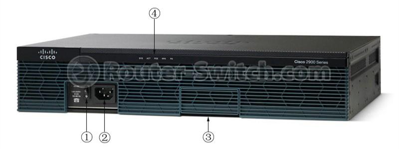 روتر شبکه سیسکو Cisco C2911-VSEC/K9