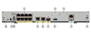 روتر شبکه سیسکو CISCO C1111-8PLTEEAWB