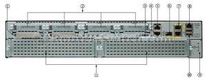 روتر شبکه سیسکو CISCO C2951-S-SRE-WAE/K9
