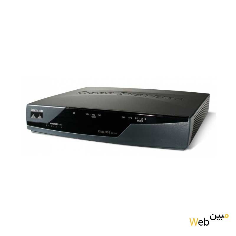 روتر شبکه سیسکو cisco 800