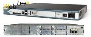 روتر شبکه سیسکو CISCO C2811-H-VSEC/K9