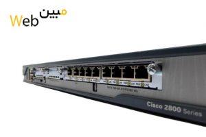 روتر شبکه سیسکو CISCO C2801-10UC-VSEC/K9