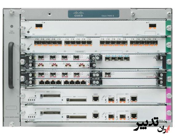 روتر شبکه سیسکو CISCO 7606-S323B-10G-R