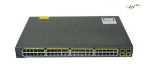 سوئیچ سیسکو Cisco WS-C2960+48TC-S