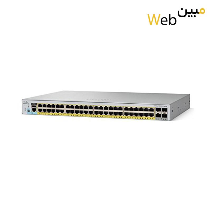 سوئیچ سیسکو Cisco WS-C2960L-48PQ-LL