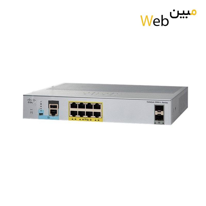 سوئیچ سیسکو Cisco WS-C2960L-8TS-LL