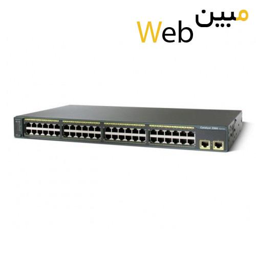 سوئیچ سیسکو Cisco WS-C2960-48TT-S