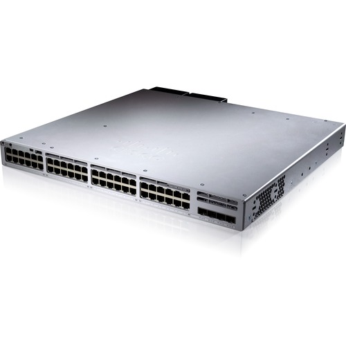 سوئیچ شبکه سیسکو 9300 مدل C9300L-48PF-4X-E