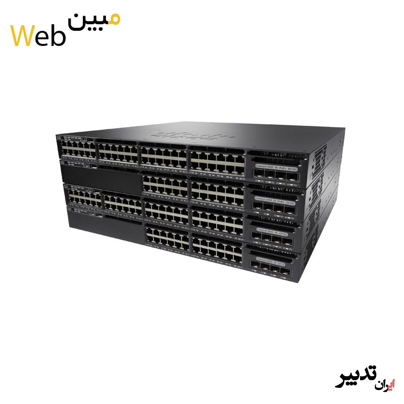 سوئیچ سیسکو Cisco WS-C3650-48FQM-E
