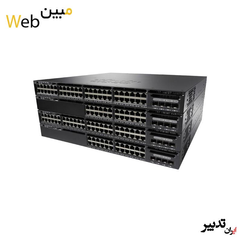 سوئیچ سیسکو Cisco WS-C3650-48PWS-S