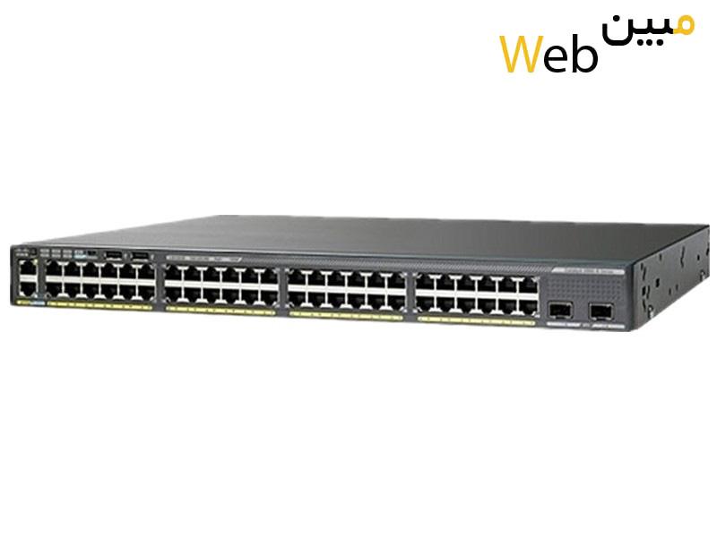 سوئیچ سیسکو Cisco WS-C2960XR-48TD-I