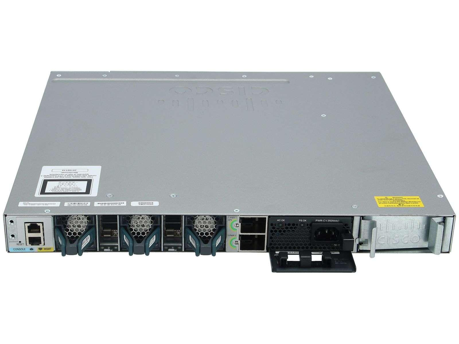 سوئیچ سیسکو Cisco WS-C3850-48F-L