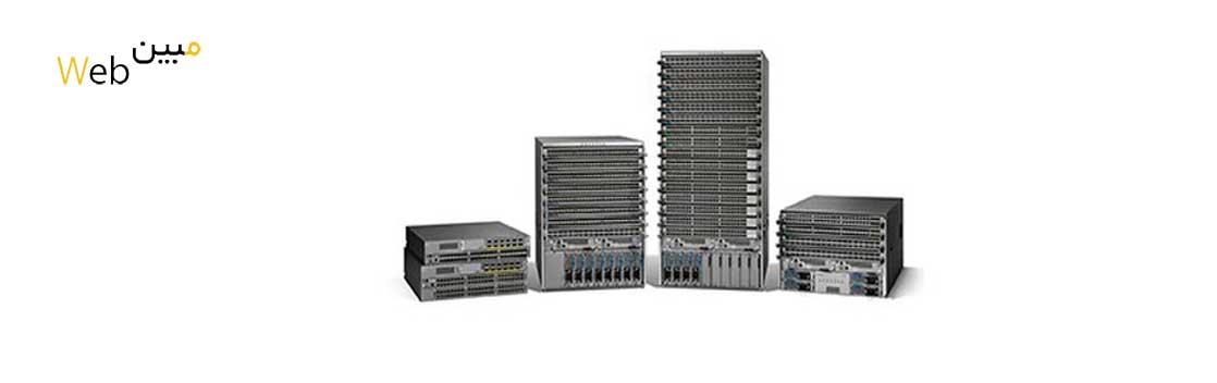 سوئیچ سیسکو Cisco Nexus C1-N9KC93180FXB18Q