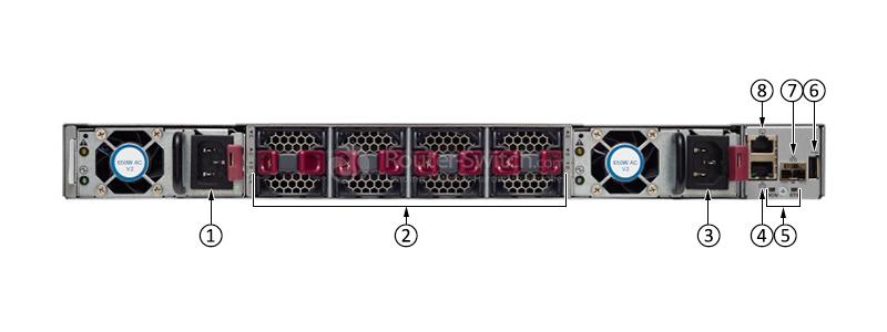 سوئیچ سیسکو Cisco Nexus N9K-C93180YC-FX