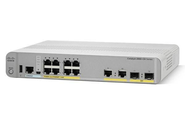 سوئیچ شبکه سیسکو WS-C2960CX-8PC-L