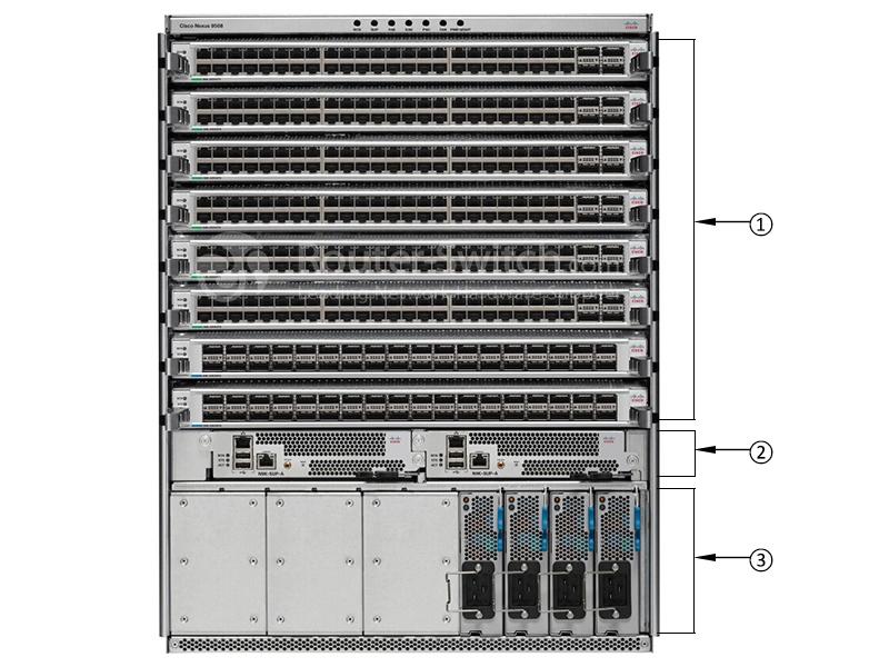 سوئیچ سیسکو Cisco Nexus C1-N9K-C9508-B2