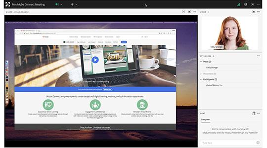 وبینار با Adobe connect