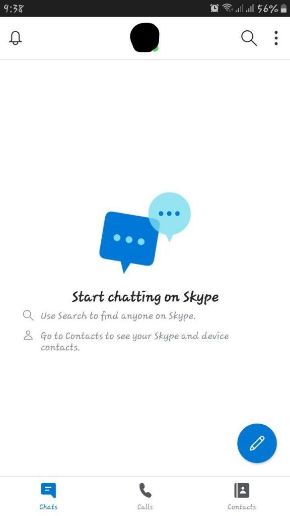اسکایپ برای موبایل
