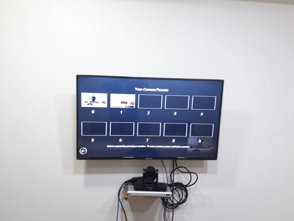 رابط کاربری ویدئو کنفرانس Polycom RealPresence Group